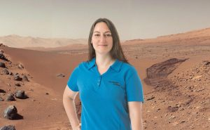 Laura Smith Velazquez, Mars engineer at Rockwell Collins. Photographer permissions to use in RWGN magazine given to Rockwell Collins.