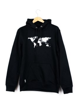 Our Planet Hoodie Black
