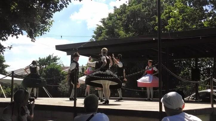 Authentic German dancing