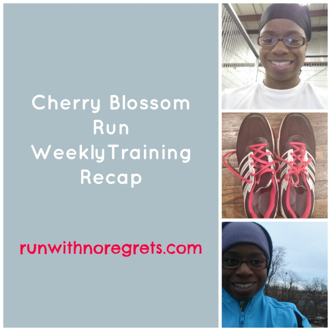 Cherry Blossom Training Recap