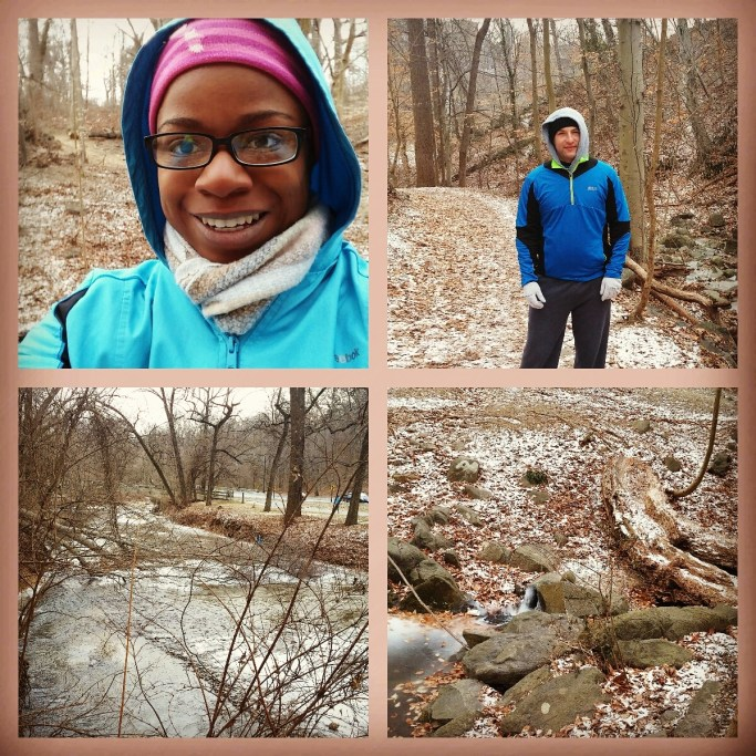 Running in Rock Creek Park