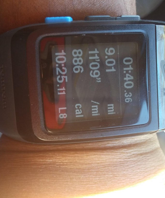 9 mile run cb