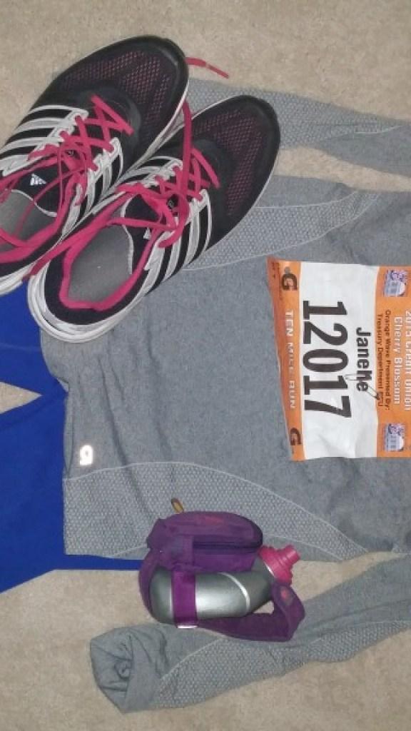 Running gear ready!