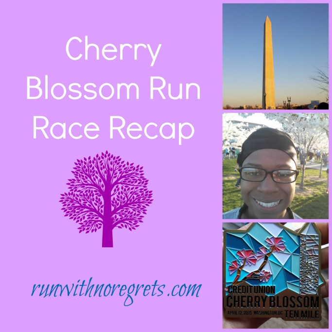 Cherry Blossom Run Race Recap