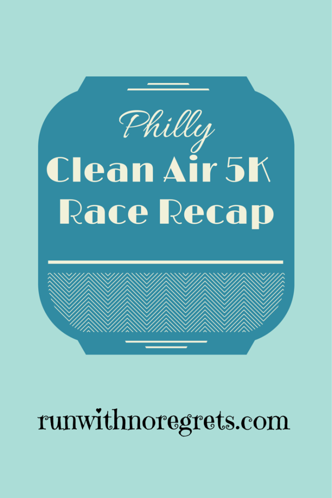 Sharing my recap of the Clean Air Council 5K in Philly, the annual Earth Day Race!