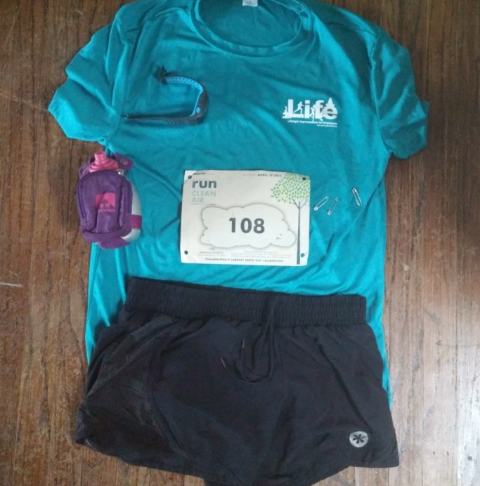run for clean air 5K outfit
