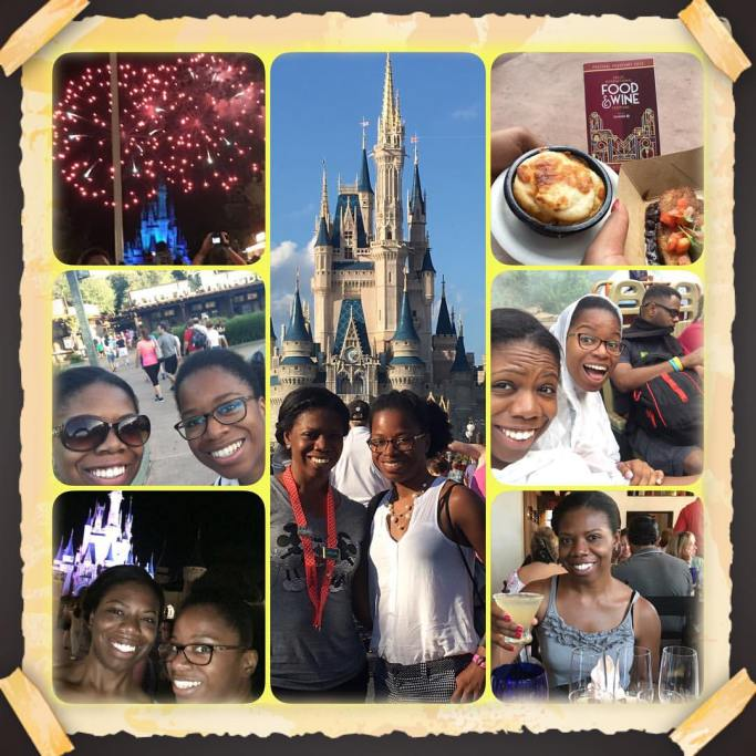 My sister took all the good pics of us in Disney!