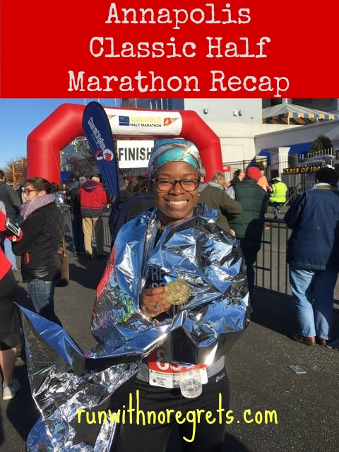I'm sharing my recap of the Annapolis Classic Half Marathon, an extremely hilly, challenging race that I'm happy to have survived! runwithnoregrets.com
