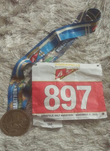 annapolis classic half marathon medal
