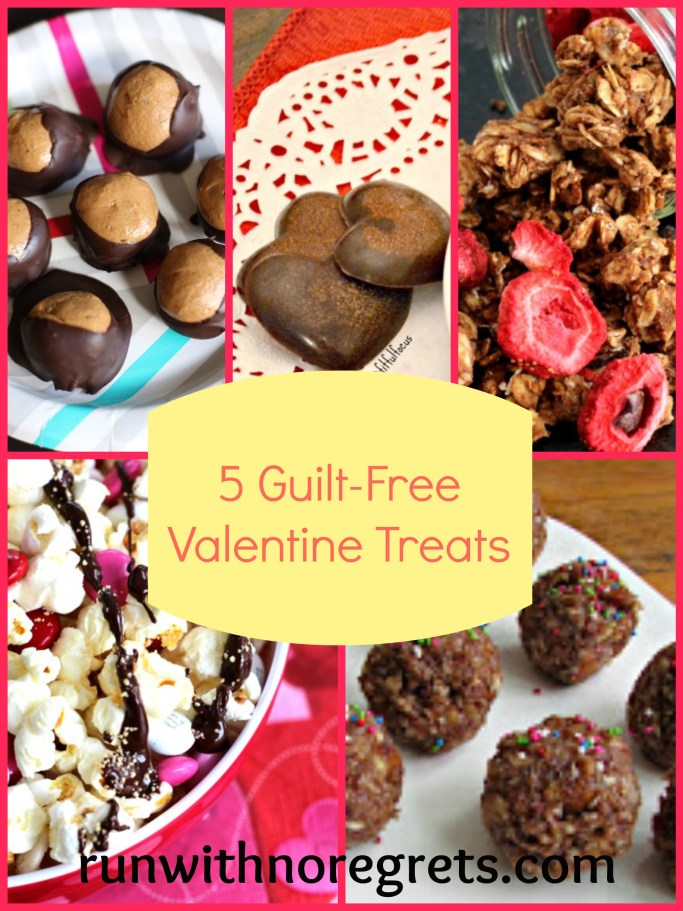 Looking for some Valentine's treats but don't want the guilt?  Here are 5 great healthy recipes that you and your Valentine would love - and they're easy to make!