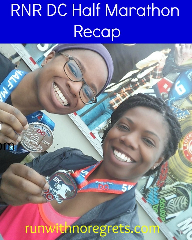 I had an incredible time at the Rock N Roll DC Half Marathon! Check out my race recap and other running tips at runwithnoregrets.com!