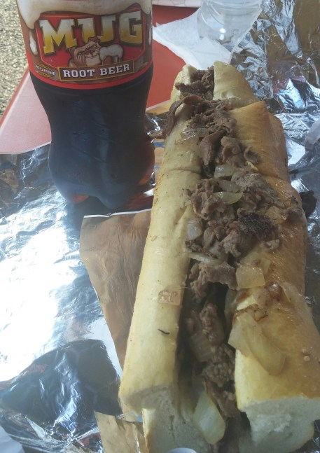 john's roast pork cheesesteak