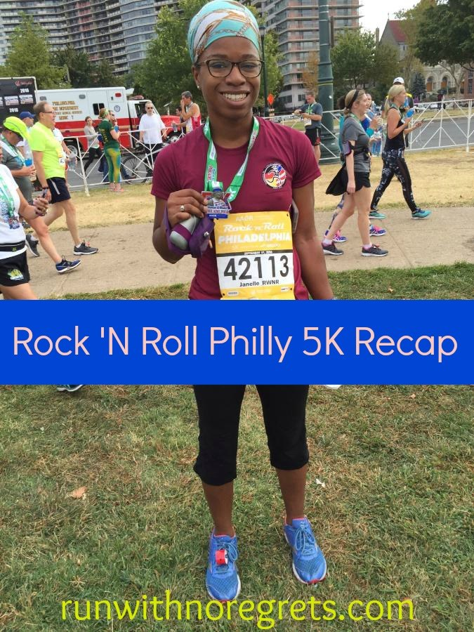 In September 2016 I ran the Rock 'N Roll Philly 5K for the secone time. Check out my recap of this race that has awesome swag!