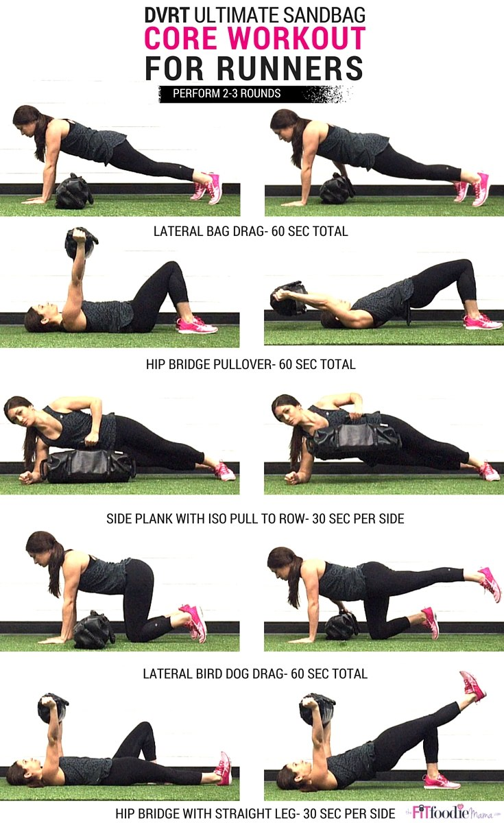 DVRT Core Workout from the Fit Foodie Mama