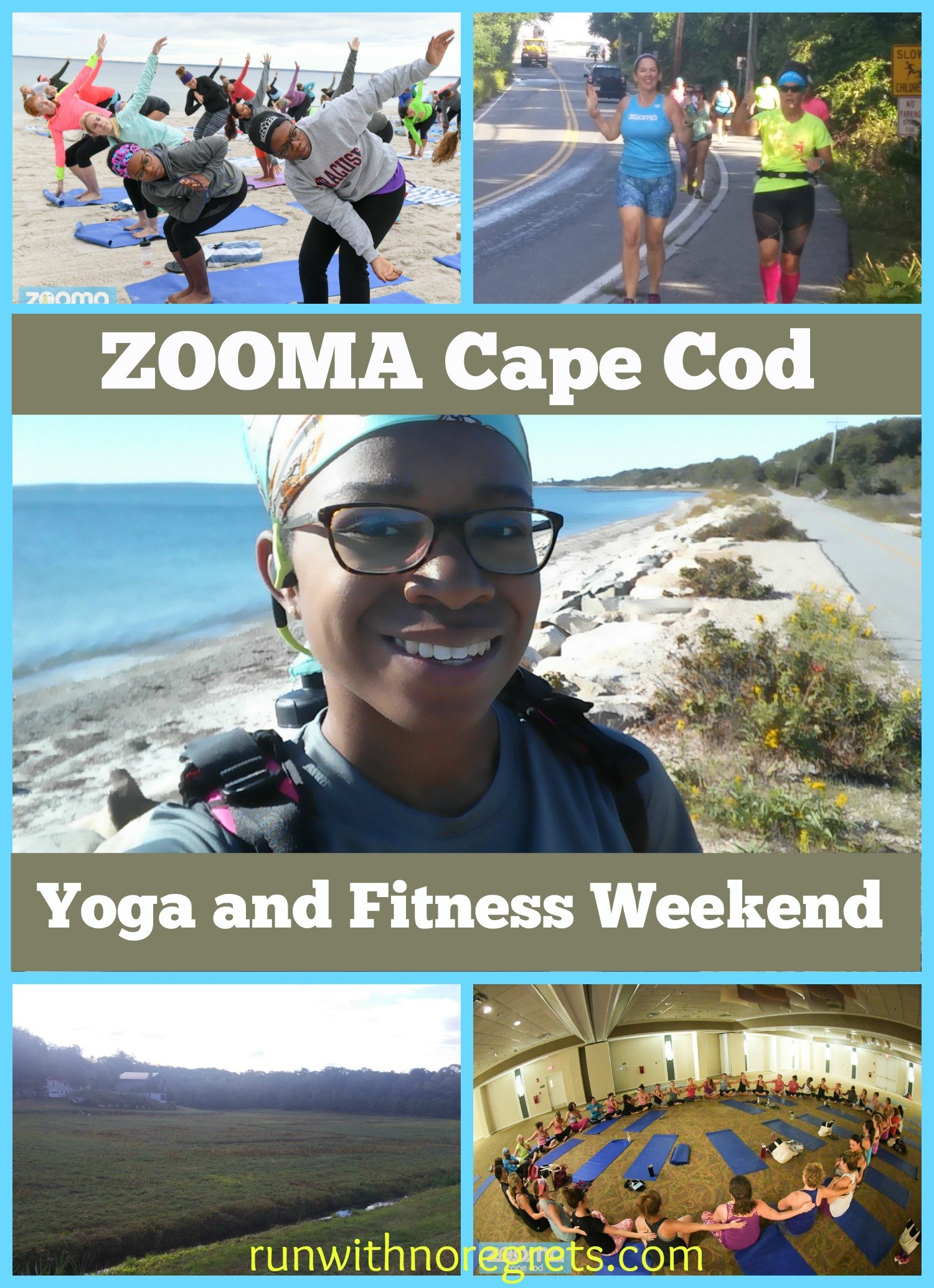 In September, I participated in ZOOMA's Yoga and Fitness Weekend in Cape Cod. It was a lovely time and I covered a lot of miles and downward dog. Check out the recap and more race recaps at runwithnoregrets.com!