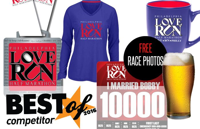 love run 2017 swag