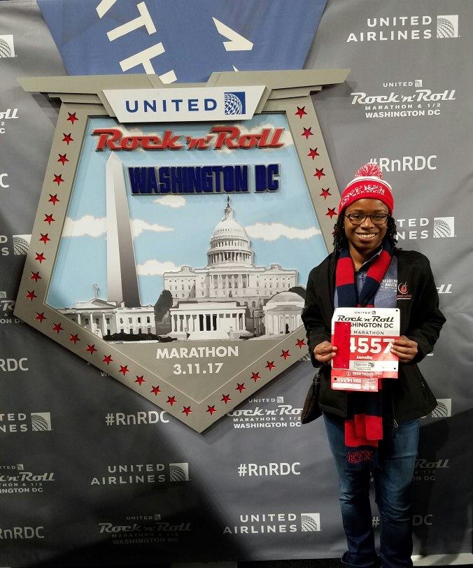 RNR DC half marathon