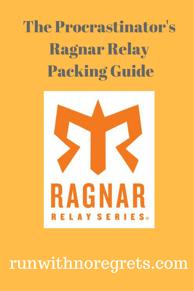 If you're a last-minute packer, this is the Ragnar Relay Packing Guide that you've been looking for!