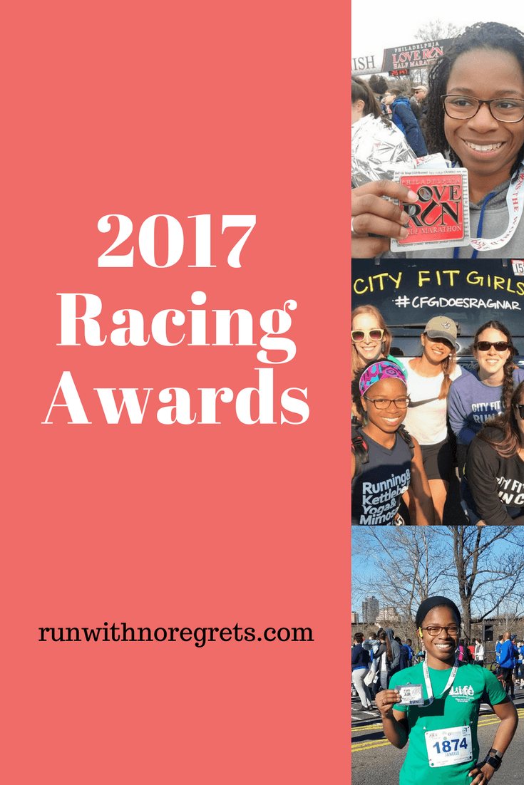 I'm looking back and sharing the favorite things about my favorite races in 2017! Check out more running fun at runwithnoregrets.com!