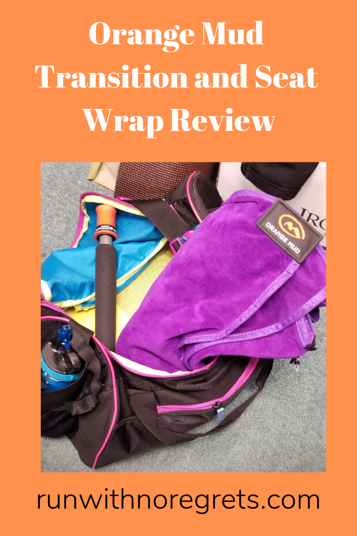 I'm sharing my review of the Orange Mud Transition and Seat Wrap - it's the workout towel that you've been waiting for! Learn more at runwithnoregrets.com!