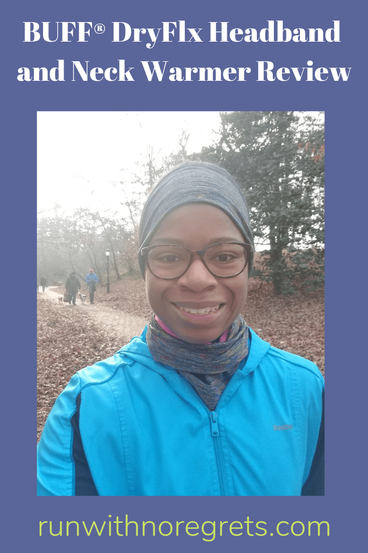 I'm sharing my experience with the new BUFF DryFlx headband and neckwarmer. If you're looking for new winter running gear, this is it! Find more running gear reviews at runwithnoregrets.com!