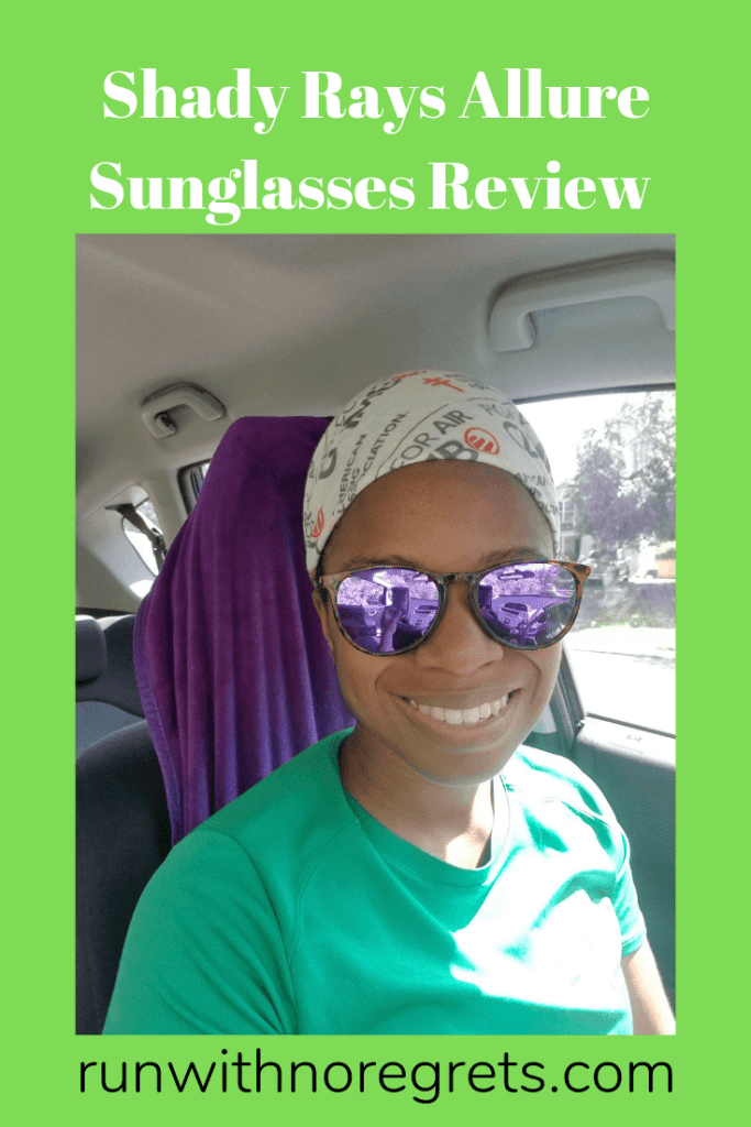 I'm sharing my review of the new Shady Rays Allure collection of polarized sunglasses - practical and stylish!  Find more reviews at runwithnroegrets.com!