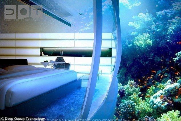 شاهد بالصور : دبي تبني أكبر فندق في العالم تحت الماء 3