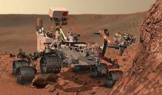 العثور علي المياه علي سطح المريخ : 2% من تربة المريخ تتكون من مياه !