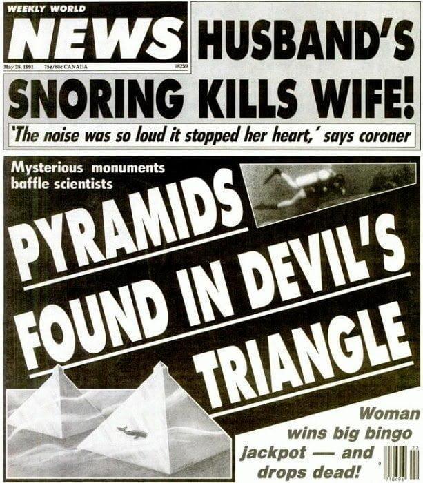 حقيقة إكتشاف أهرامات زجاجية تحت الماء في مثلث برمودا 2