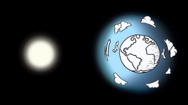 لماذا السماء زرقاء ؟ و ما سبب حمرة السماء عند الغروب ؟ 1