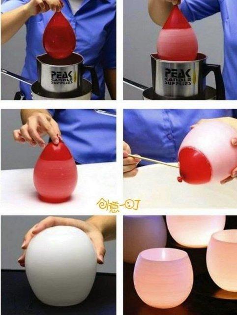 أفكار منزلية : أفكار منزلية مدهشة باستخدام بالون عادي 2