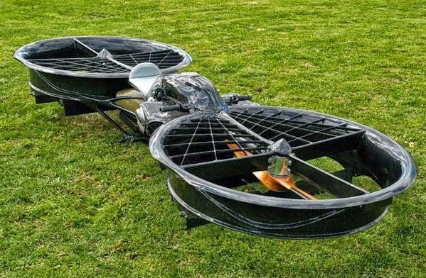الدراجة الطائرة Hoverbike