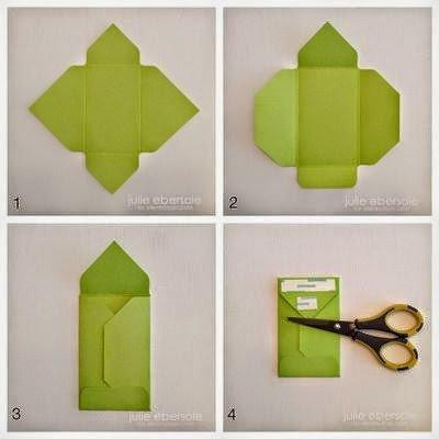 كيف تصنع ظرف من الورق بسيط وجميل - بالصور 4