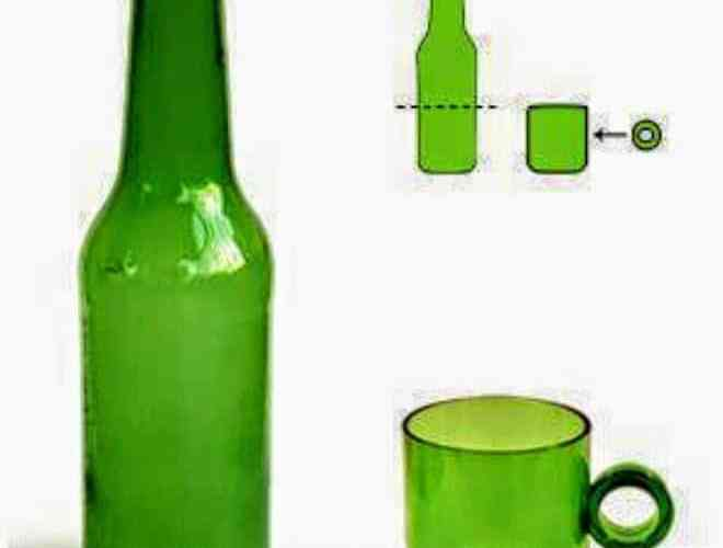 تعلم طريقة قص أو تقطيع الزجاجات ( الزجاج ) يدوياً بالخيط و اللهب ! 3