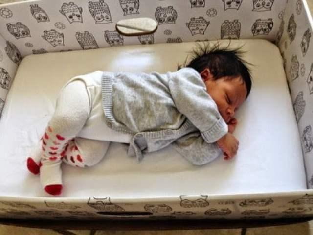 تعرف لماذا ينام أطفال فنلندا في صناديق من الكرتون . 4
