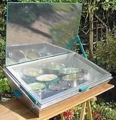 الطباخ الشمسي : أفران شمسية من أبسط الخامات !! 11