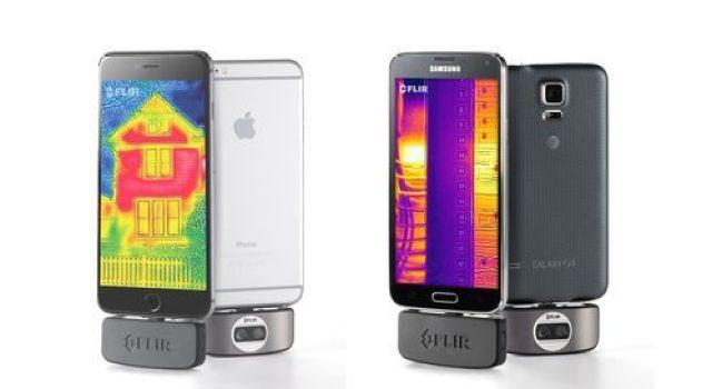 هل يمكن تحويل كاميرا الهاتف لكاميرا رؤية ليلية حرارية ؟