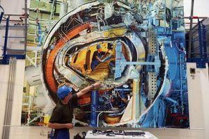 بناء مفاعل الإندماج النووي   Sean Gallup/Getty