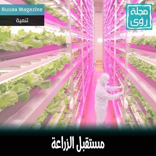 مستقبل الزراعة : روبوت يطعم الشتول. 13