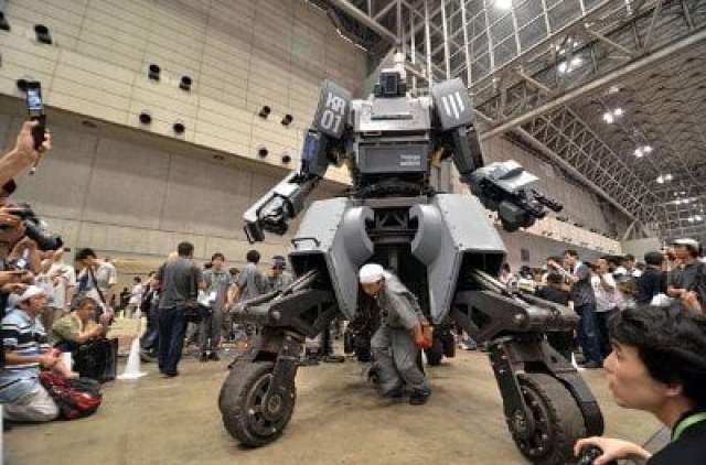 هل تبدأ الروبوتات العملاقة حرباً حقيقية بين أمريكا و اليابان ؟ 2