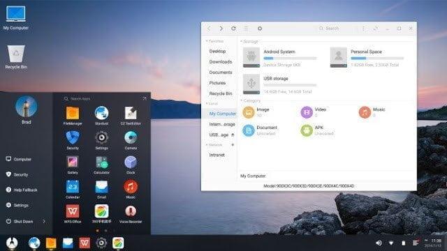 نظام  Pheonix OS لتشغيل أندرويد نوجا 7.1 على الكمبيوتر و مقارنه مع ويندوز ولينكس 4