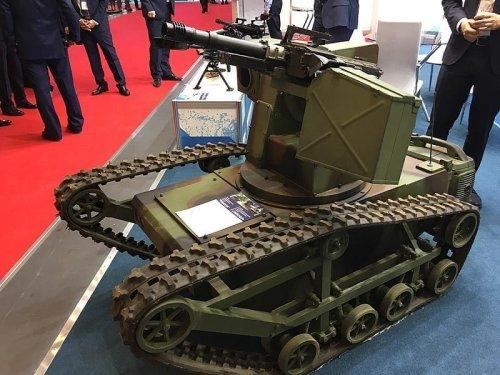 معرض للروبوتات العسكرية