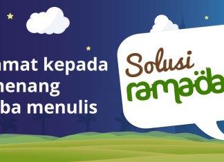 pemenang lomba blog solusi ramadan