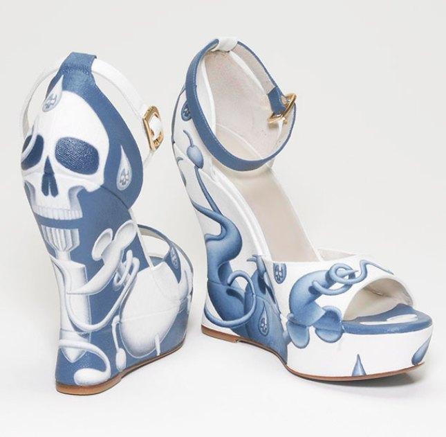 Rupert Gatfield's Terry de Havilland shoes