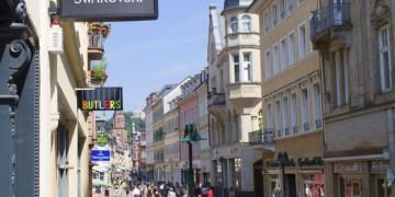 Antlitz einer beliebigen deutschen Innenstadt. Hier: Heidelberg. Foto: Michael Graupner