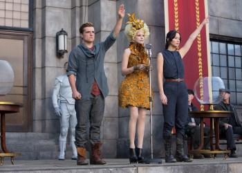 Katniss und Peeta können schwer damit umgehen, ein zweites Mal bei den Hunger Games antreten zu müssen. Foto: Murray Close.