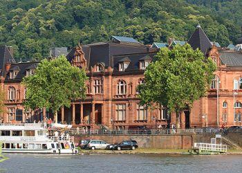 Den ursprünglichen Plan, das Kongresszentrum an die Stadthalle anzubauen, lehnten die Heidelberger in einem Bürgerentscheid ab. Bild: wikimedia commons/ Rudolf Stricker