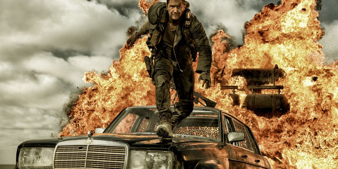 """Mad Max"" in Aktion. Bild: Jasin Boland/Warner Bros."