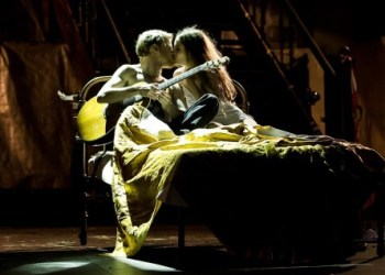 Romeo und Julia. Bild: Annemone Taake/Theater Heidelberg.