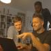Der bürgerliche Schein trügt: Falk Schacht, Sékou Neblett und Marcus Staiger – deutsche Hip-Hop-Prominenz. Foto: Camino Filmverleih.